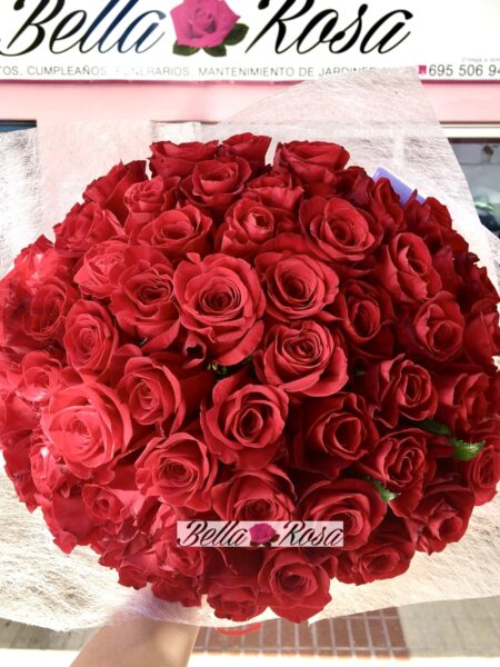 Sorpresa de amor rosas