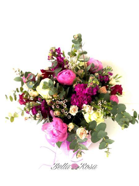 caja floral alegria