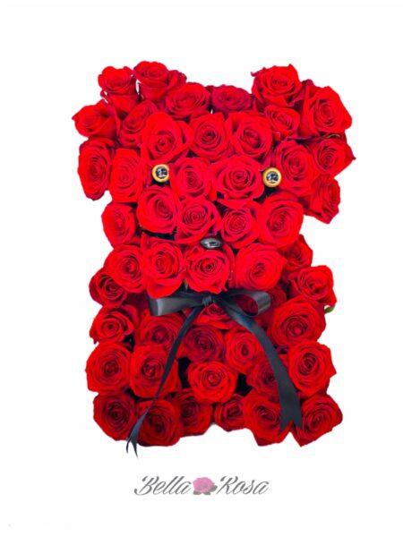Luxury roses bear